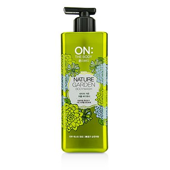 ON THE BODY Nature Garden Body Wash 500g/17.6oz