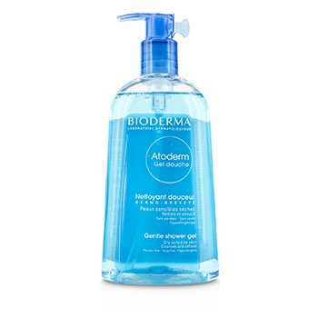 Bioderma Atoderm Gentle Shower Gel (For Dry Sensitive Skin) 500ml/16.7oz