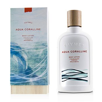 Thymes Aqua Coralline Body Lotion 270ml/9.25oz ladies fragrance