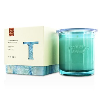 Thymes Aromatic Candle - Aqua Coralline 284g/10oz home scent