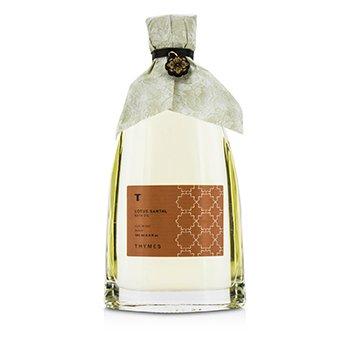 Thymes Lotus Santal Bath Oil 190ml/6.4oz ladies fragrance