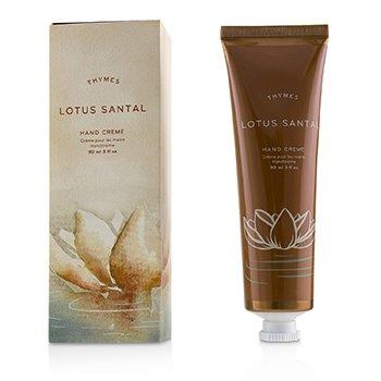 Thymes Lotus Santal Крем для Рук 90ml/3oz
