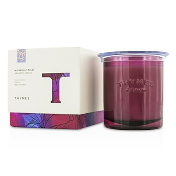 Thymes Aromatic Candle - Mirabelle Plum 284g/10oz home scent