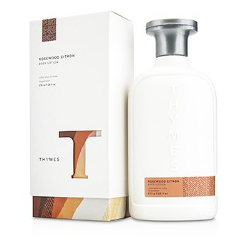 Thymes Rosewood Citron Body Lotion 270ml/9.25oz ladies fragrance