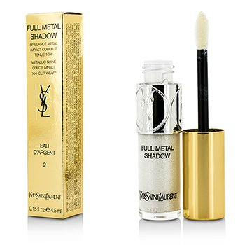 Купить Full Metal Тени для Век - #02 Eau Dargent 4.5ml/0.15oz, Yves Saint Laurent