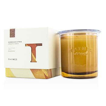 Thymes Aromatic Candle - Rosewood Citron 284g/10oz home scent