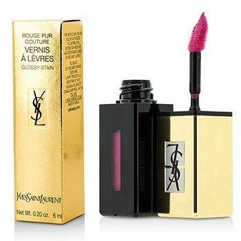 Yves Saint Laurent Rouge Pur Couture Vernis A Levres Pop Water Glossy Stain – #206 Misty Pink 6ml/0.2oz