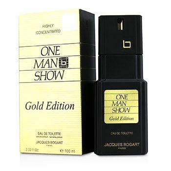 Jacques Bogart One Man Show Gold Edition Eau De Toilette Spray 100ml/3.33oz