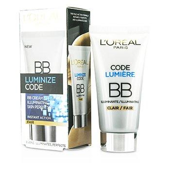 L'Oreal Luminize Code Skin Perfector BB Cream SPF15 – # Fair 50ml/1.69oz