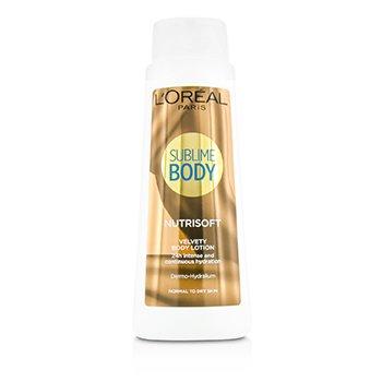 L'Oreal Sublime Body Nutrisoft Velvety Body Lotion – For Normal To Dry Skin 400ml/13.53oz