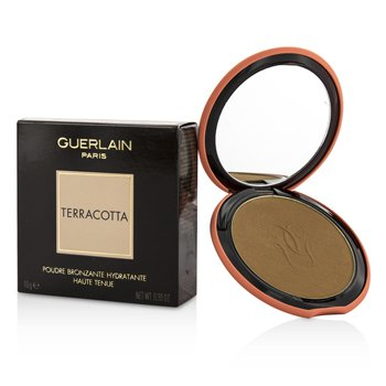 Guerlain Terracotta Bronzing Powder (With Silicone Case) – # 03 Natural Brunettes 10g/0.35oz
