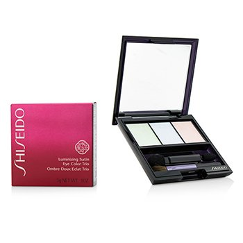 Shiseido Trio Color Ojos Sat�n Iluminante - # BL215 Static  3g/0.1oz