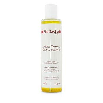 Ella Bache Tomate Aceite Limpiador para Rostro, Ojos y Maquillaje Larga Duraci�n (Tama�o de Sal�n)  200ml/6.76oz