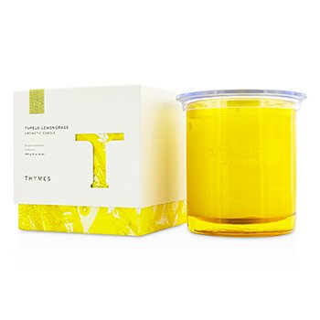 Thymes Aromatic Candle - Tupelo Lemongrass 284g/10oz home scent