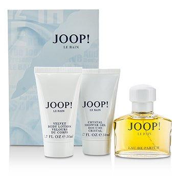Joop Le Bain Coffret: EDP Spray 40ml/1.35oz + Body Lotion 50ml/1.7oz + Shower Gel 50ml/1.7oz 3pcs