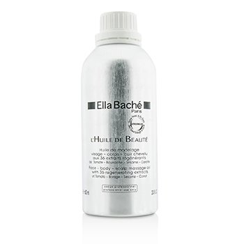 Ella BacheFace-Body-Scalp Massage Oil (Salon Product) 600ml/20.3oz