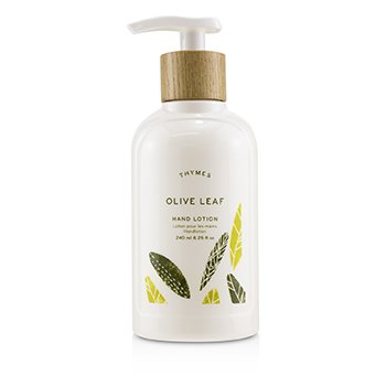 Thymes Olive Leaf Hand Lotion 240ml/8.25oz