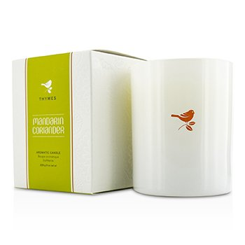 Thymes Poured Candle – Mandarin Coriander 255g/9oz