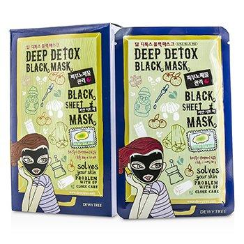 DewytreeBlack Sheet Mask - Deep Detox 10x30g/1oz