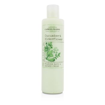Caswell Massey Cucumber & Elderflower Foaming Bath & Shower Cream  240ml/8oz