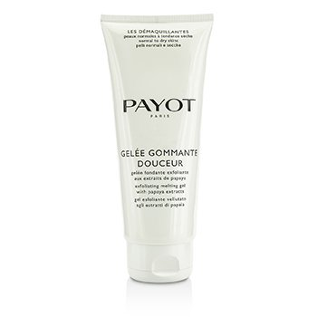 Payot Les Demaquillantes Gelee Gommante Douceur Exfoliating Melting Gel – Salon Size 200ml/6.7oz