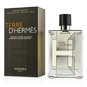 HermesTerre D'Hermes Eau De Toilette Spray (Edici�n Limitada Botella H 2014) 100ml/3.3oz