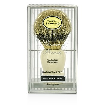 The Art Of Shaving Fine Badger Shaving Brush – Ivory 1pc