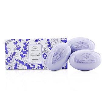 Caswell MasseyLavendar Bar Soap Set 3x150g/5.2oz