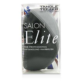 Tangle Teezer Salon Elite Professional Detangling Hair Brush – Midnight Black (For Wet & Dry Hair) 1pc