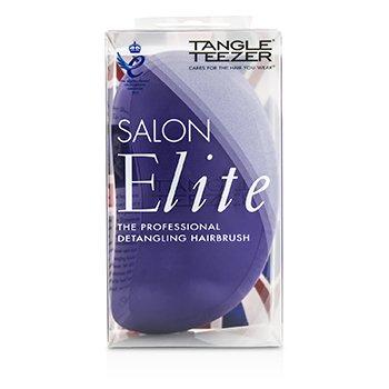 Tangle Teezer Salon Elite Professional Detangling Hair Brush – # Purple Crush (For Wet & Dry Hair) 1pc