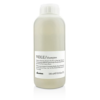 DavinesVolu Volume Enhancing Shampoo (For Fine or Limp Hair) 1000ml/33.8oz