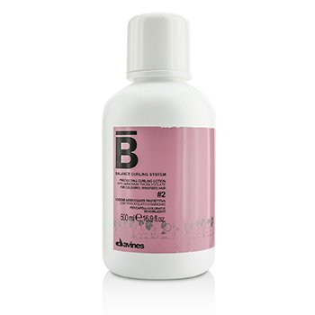 Davines�Ū�蹻���ͧ�� Balance Curling System Protecting Curling Lotion # 2 (For Coloured, Sensitized Hair) 500ml/16.9oz