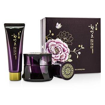 The Face Shop Myeonghan Miindo Hwansaenggo Gold Eye Cream Set: Gold Eye Cream 25 skincare
