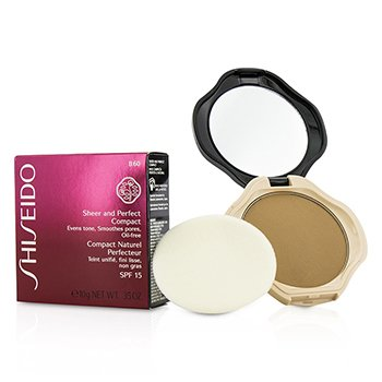 Shiseido Sheer & Perfect Compact Foundation SPF15 - #B40 Natural Fair Beige 10g/0.35oz