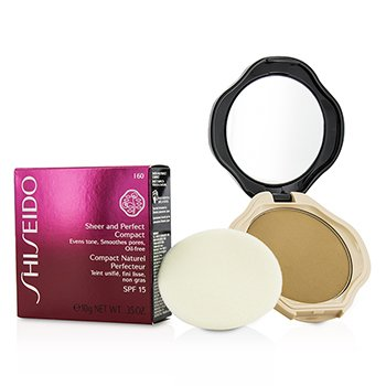 ����� �ͧ��� Sheer & Perfect Compact Foundation SPF15 - #I60 Natural Deep Ivory  10g/0.35oz