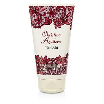 Christina Aguilera Red Sin Shower Gel 150ml/5oz