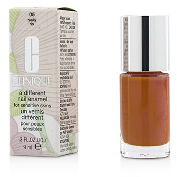 Clinique A Different Nail Enamel For Sensitive Skins - #05 Really Rio  9ml/0.3oz