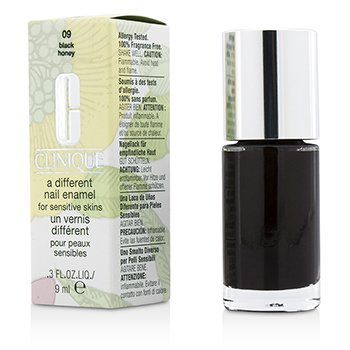 Clinique A Different Nail Enamel For Sensitive Skins – #09 Black Honey 9ml/0.3oz