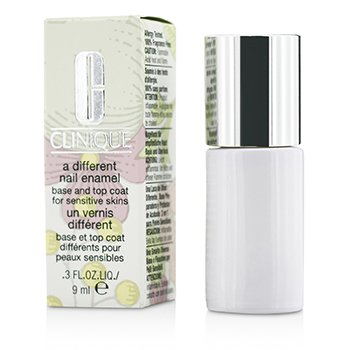 CliniqueA Different Nail Enamel Base & Top Coat For Sensitive Skin 9ml/0.3oz