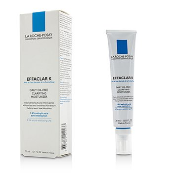 La Roche Posay Effaclar K Daily Oil-Free Clarifying Moisturizer  30ml/1.01oz