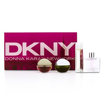DKNYHouse Of DKNY Miniature Coffret: City, Be Delicious, Energizing, Golden Delicious 4pcs