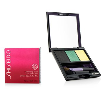 Shiseido Luminizing Satin Eye Color Trio - # GR716 Vinyl  3g/0.1oz