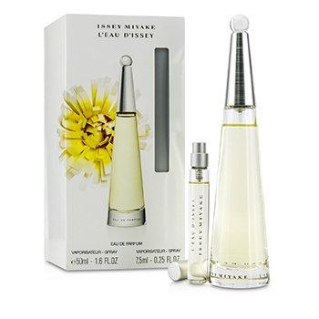 Issey MiyakeL'Eau D'Issey Coffret: Eau De Parfum Spray 50ml/1.6oz + Eau De Parfum Spray 7.5ml/0.25oz 2pcs