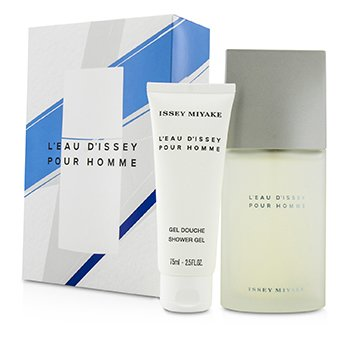 Issey MiyakeIssey Miyake Coffret: Eau De Toilette Spray 75ml/2.5oz + Gel Ducha 75ml/2.5oz 2pcs