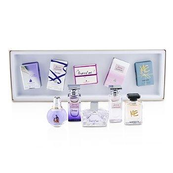 LanvinCoffret Miniaturas: Eclat D'Arpage + Jeanne Lavin Couture + Marry Me + Jeanne Lanvin + Me 5pcs