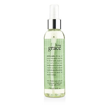 PhilosophyLiving Grace Satin-Finish Body Oil Mist 174ml/5.8oz