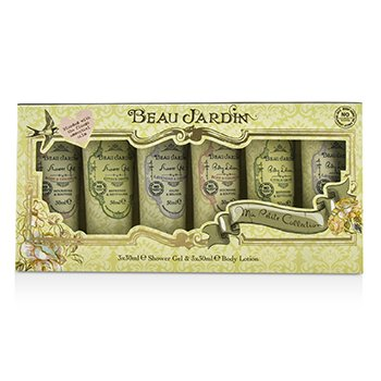 Heathcote & Ivory Beau Jardin Ma Petite Collection: 3x Shower Gel ...