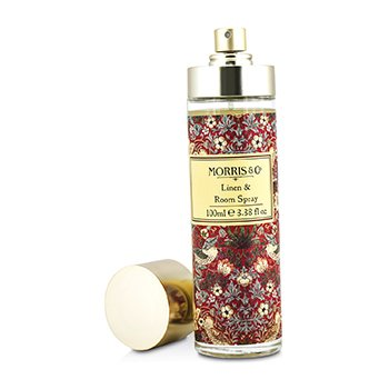 Linen & Room Spray - Strawberry Thief Morris And Co Linen & Room Spray - Strawberry Thief 100ml/3.38oz