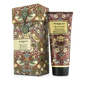 Strawberry Thief Moisture Rich Body Lotion Morris And Co Strawberry Thief Moisture Rich Body Lotion 200ml/6.76oz