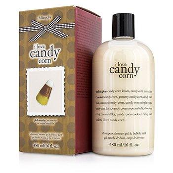I Love Candy Corn Shampoo  Shower Gel & Bubble Bath Philosophy I Love Candy Corn Shampoo  Shower Gel & Bubble Bath 480ml/16oz